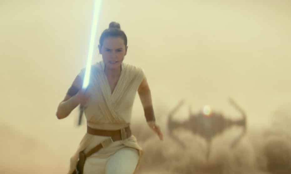 Daisy Ridley in the forthcoming Star Wars: Episode IX – The Rise of Skywalker.