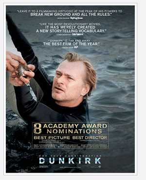The next 007? Christopher Nolan in the Dunkirk ad.