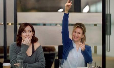 Sarah Solemani, left, as Miranda, and Renee Zellweger as Bridget in Bridge Jones's Baby