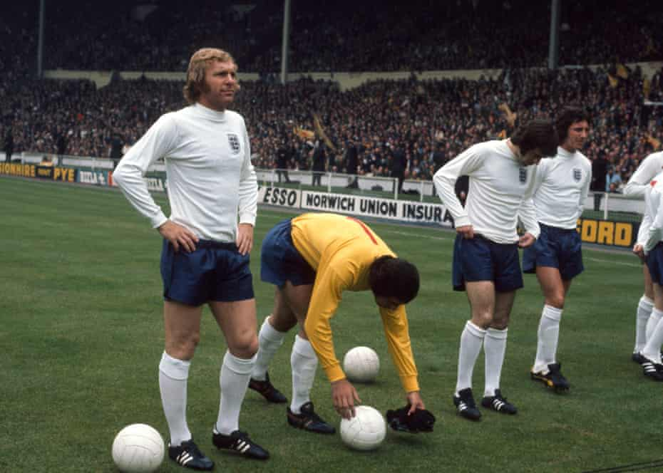 Bobby Moore in 1973