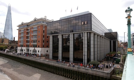 The headquarters of the Financial Times newspaper in London.