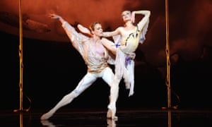 Melissa Hamilton and Edward Watson in L'Invitation Au Voyage by The Royal Ballet.
