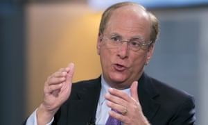 BlackRock's chairman and CEO, Laurence Fink.