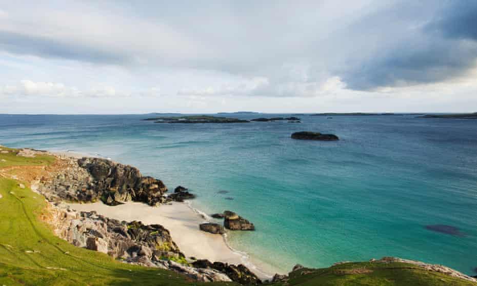 Tra Ghael beach, Inishbofin island.