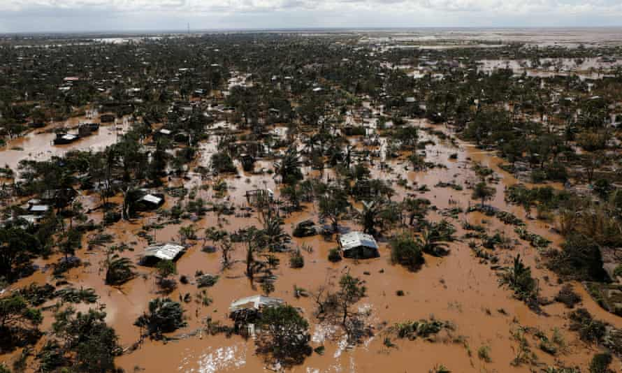 Flooding in Mozambique after Cyclone Idai in March
