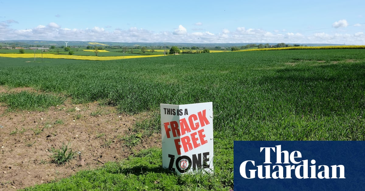 Government faces new legal challenge over plans to speed up fracking
