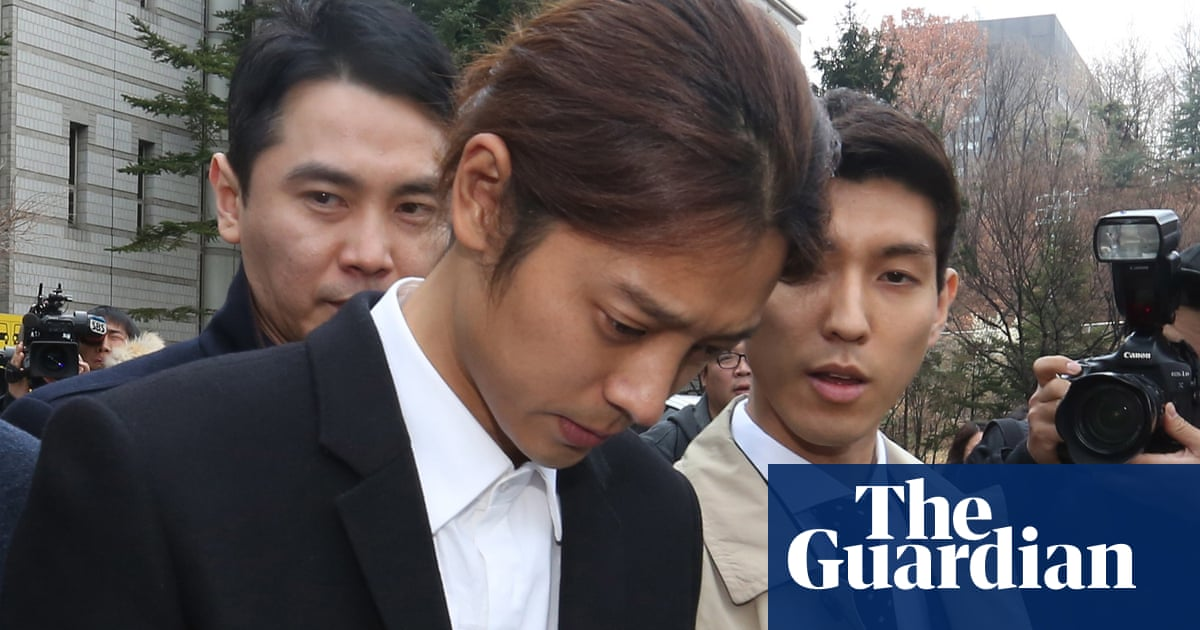 K-pop stars Jung Joon-young and Choi Jong-hoon jailed for gang-rape in South Korea