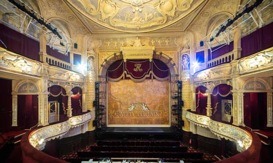Frank Matcham's Richmond theatre auditorium.