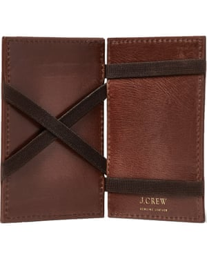 Magic wallet, £35, J Crew mrporter.com