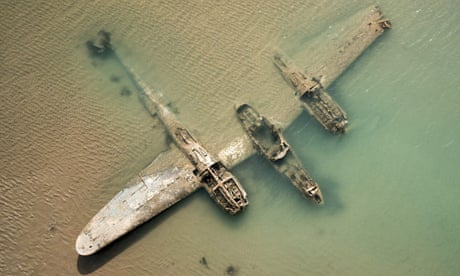 WW2 wreck of fighter plane off Welsh coast gets protected status