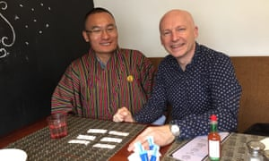 Tshering Tobgay and author