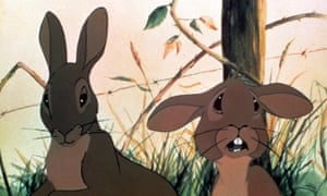 In the Adams's book and the film that followed, the rabbits were both calculated killers and senselessly slaughtered.