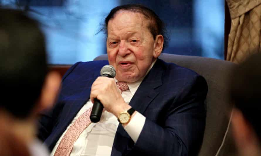 Sheldon Adelson was said to favor Marco Rubio early in the primary season but the Florida senator dropped out of the race on Tuesday.