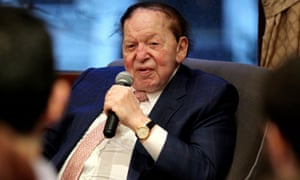 One of the richest men in the world, and a well-known Republican mega-donor, Sheldon Adelson is a billionaire casino owner.