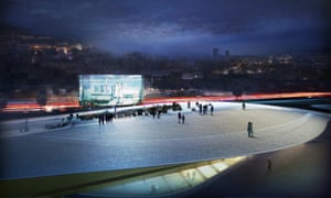 Screenings will be held on the museum roof.