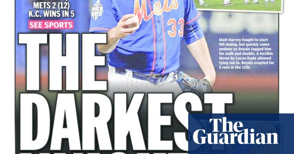 The Kansas City Royals win the World Series: American newspaper