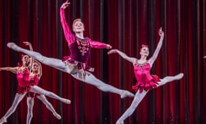 Steven McRae and Melissa Hamilton in Rubies from Jewels.