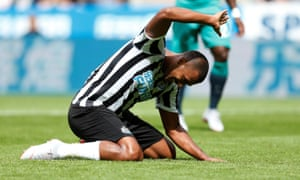 A frustrating afternoon for Rondon and Newcastle.