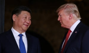 Trump welcomes Chinese President Xi Jinping