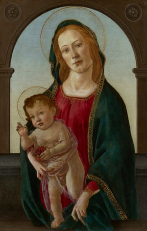 Madonna and child, now confirmed as almost certainly a genuine Botticelli