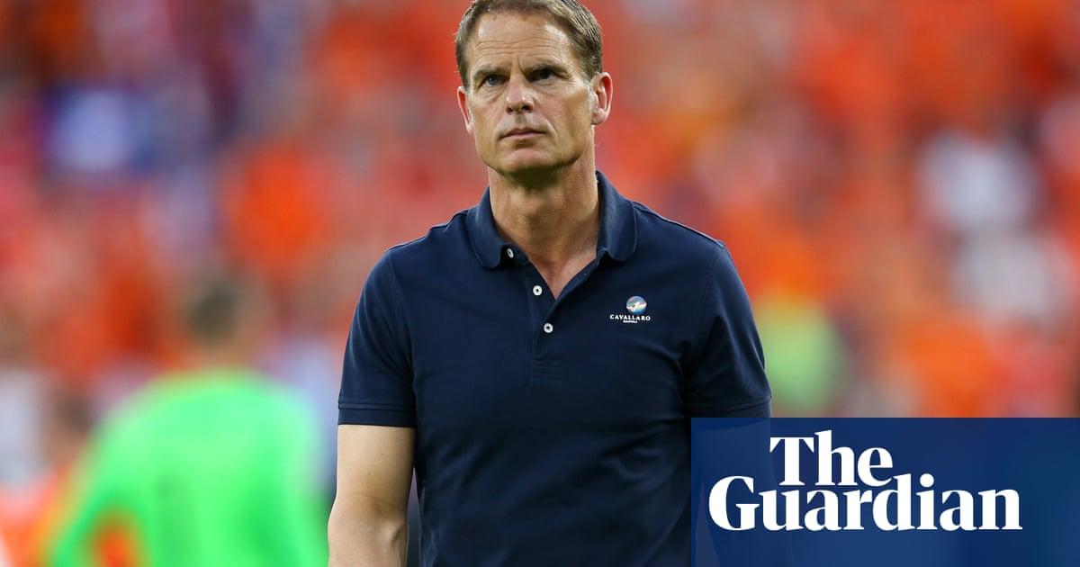 'It is not healthy for me' – Frank de Boer leaves Netherlands post