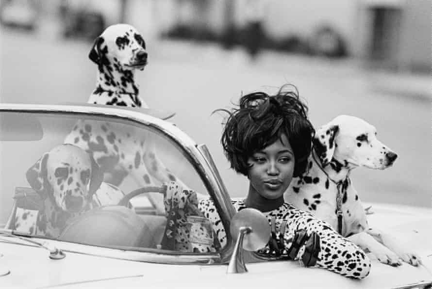 Well spotted: Naomi in Vogue USA, 1990.