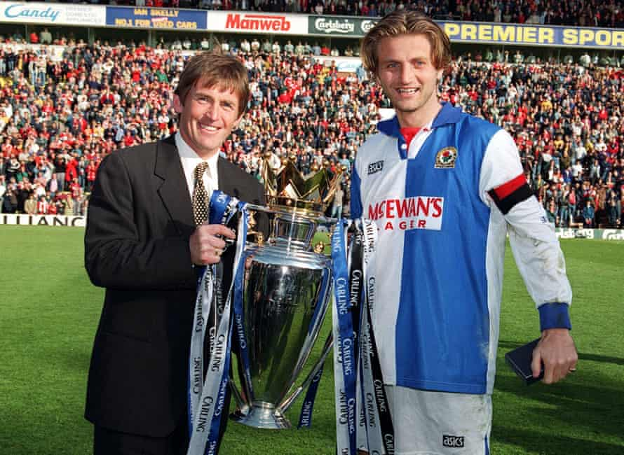 Kenny Dalglish won three league titles with Liverpool and one with Blackburn in 1995.