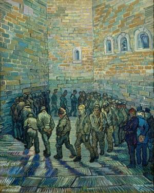 Van Gogh's Prisoners Exercising.