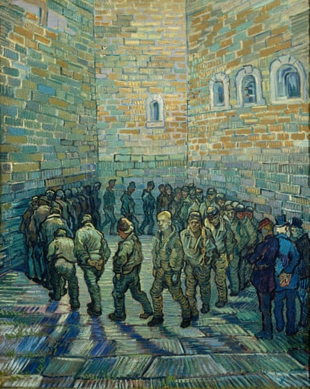 Vincent van Gogh's Prisoners Exercising, 1890