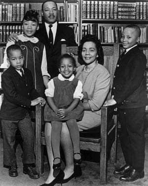 The King family in 1966