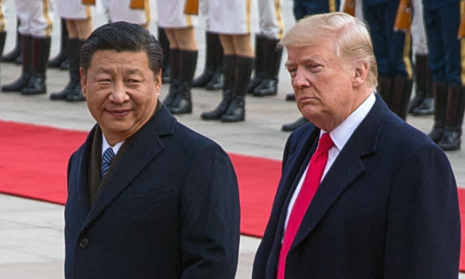 US President Donald J. Trump and Chinese President Xi Jinping