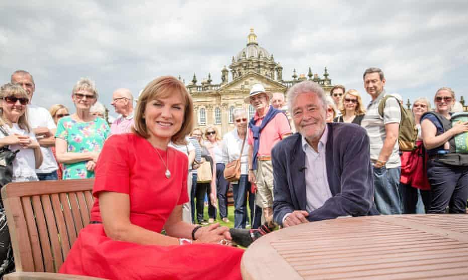 Fiona Bruce and David Battie on Antiques Roadshow