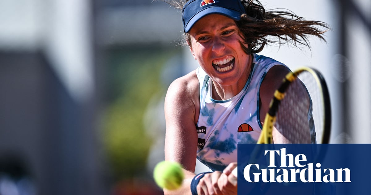 Johanna Konta knocked out of French Open after defeat by Cirstea