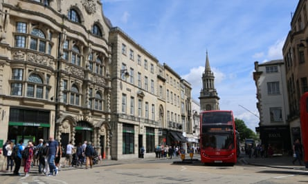 Oxford was one of the top cities in the 2017 Good Growth for Cities index.