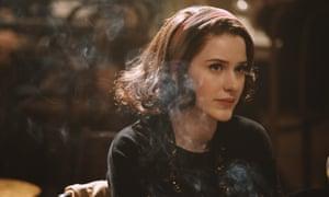 Rachel Brosnahan in Amazon's The Marvelous Mrs Maisel