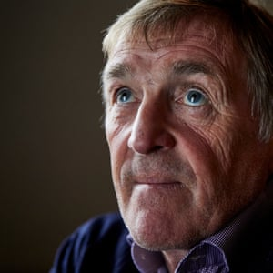Former Celtic and Liverpool footballer and manager Kenny Dalglish