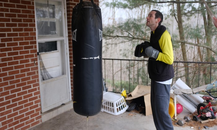 A puncher's chance: amateur fight event offers a desperate