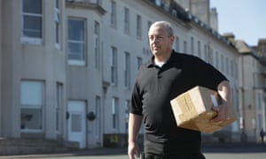 Delivery driver Ed Cross from Whitby, North Yorkshire.