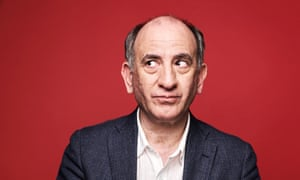 OBserver New Review<br>Armando Iannucci interviewed for his latest film The Personal History of David Copperfield.  Photographed at the Soho Hotel for Observer New Review by Suki Dhanda.