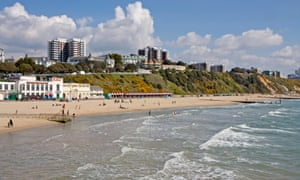 The East Cliff area of Bournemouth