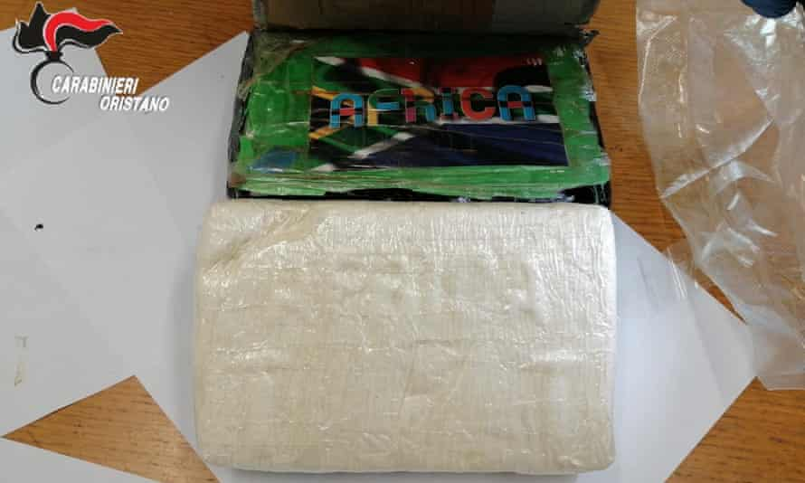 The stash of pure cocaine weighed 8.5kg and valued at over €9m