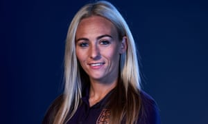 Toni Duggan played for Barcelona in front of 60,000 in a record-breaking women's game in Madrid in March.