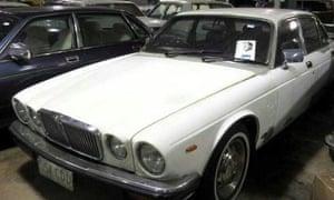 Joh Bjelke-Petersen's 1982 Jaguar Sovereign.