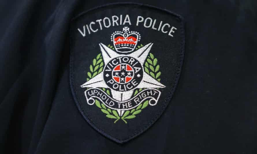 Victoria police badge