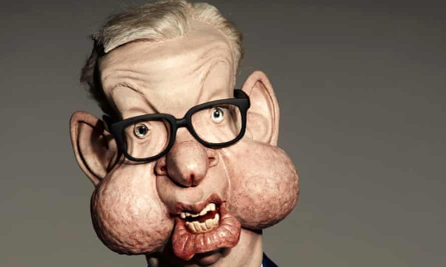 Michael Gove Spitting Image puppet