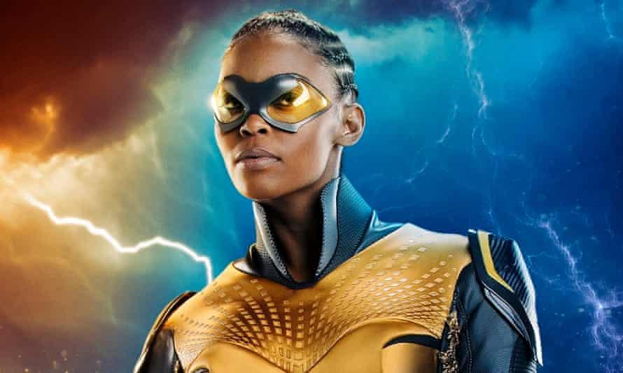 Nafessa Williams as Anissa Pierce in Black Lightning.