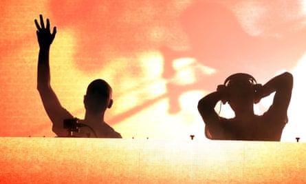 Paavo Siljamaki and Jono Grant of Above & Beyond play New Orleans.