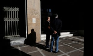 Banks will be among the public services closed as the 24-hour strike disrupts life across Greece.
