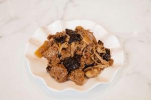 Shanghai Modern's bran dough with fungus is an 'umami Hoover'.