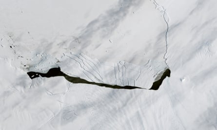 Scientists have long been tracking the retreat of Pine Island Glacier, one of the main outlets where ice from the West Antarctic Ice Sheet flows into the ocean.